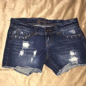 UEC Guess Jeans , denim shorts